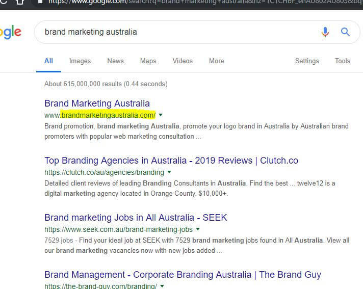 Brand marketing Australia