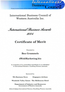 International Business Council Perth