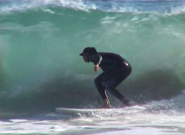 Photo of Ben Grummels Surfing Perth